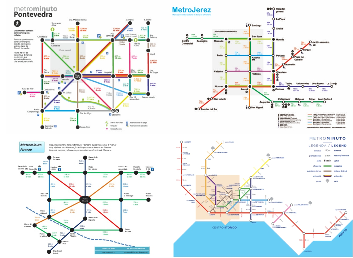 Metrominuto, Pontevedra, Jerez, Florencia y Cagliari